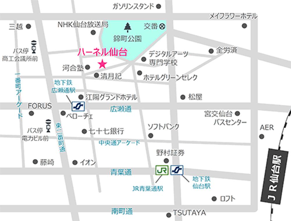 map-sendai